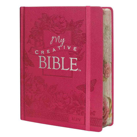 My Creative Bible Pink (LuxLeather Hardcover)