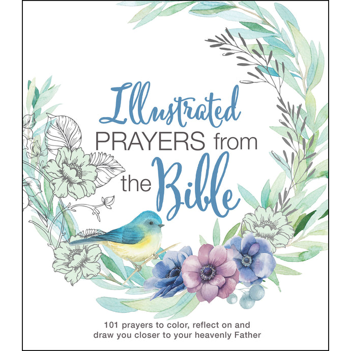 Illustrated Prayers From The Bible (Paperback)