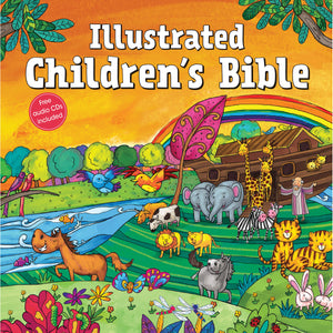 Illustrated Children's Bible With CD (Hardcover)