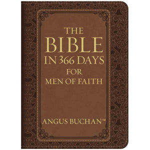 The Bible In 366 Days For Men Of Faith Devotional (LuxLeather)