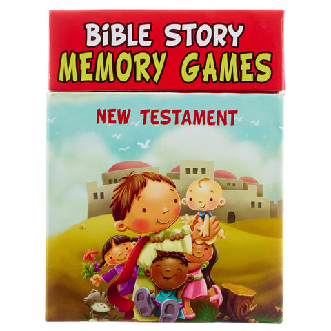 Bible Story Memory Games New Testament (Boxed Set)