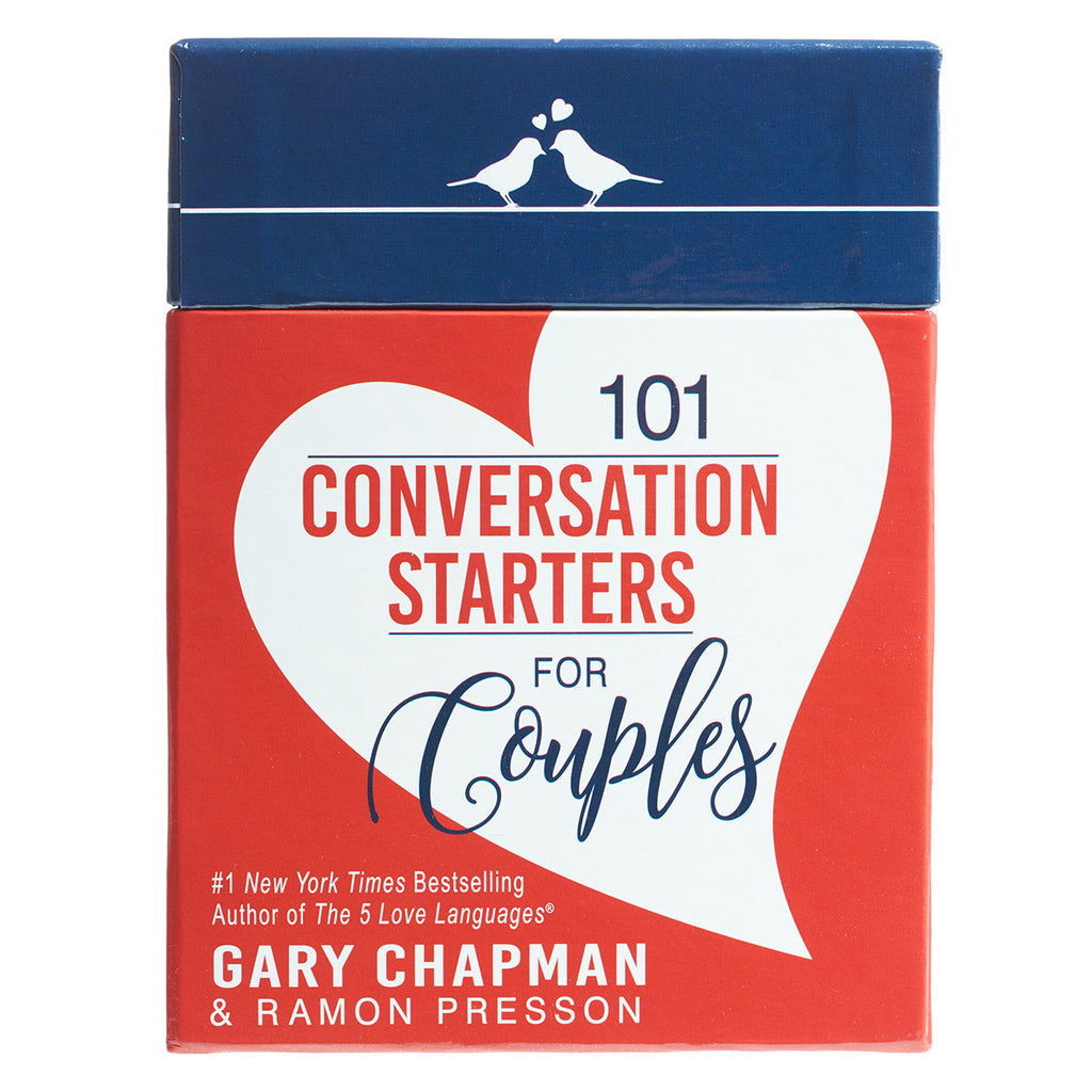 101 Conversation Starters For Couples Cards (Boxed Set)