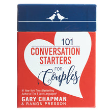 Load image into Gallery viewer, 101 Conversation Starters For Couples Cards (Boxed Set)