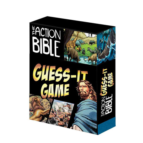 The Action Bible Guess It Game (Boxed Set)