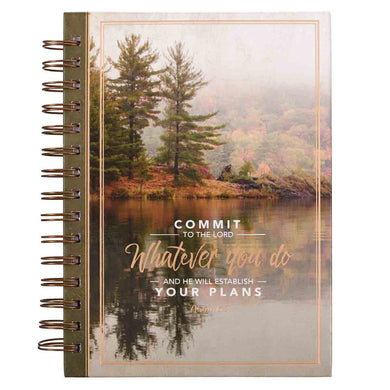 Commit To The Lord (Hardcover Wirebound Journal)