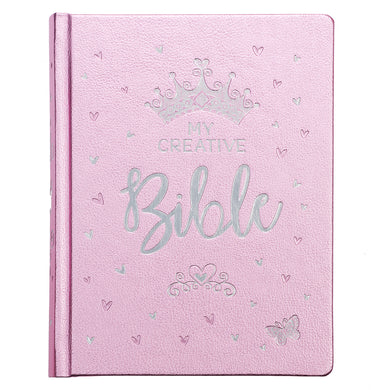ESV My Creative Bible For Girls Pink Salsa (Faux Leather Hardcover)