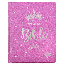 Load image into Gallery viewer, ESV My Creative Bible For Girls Purple Glitter (Hardcover)