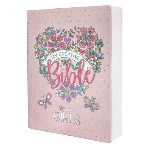 Load image into Gallery viewer, ESV My Creative Bible For Girls Pink (Softcover)