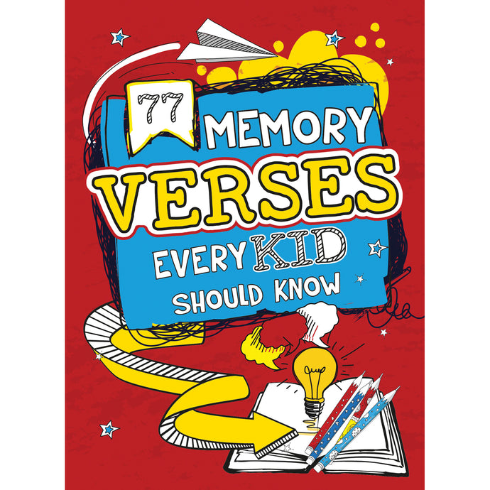 77 Memory Verses Every Kid Should Know (Paperback)