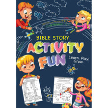 Load image into Gallery viewer, Bible Story Activity Fun (Paperback)