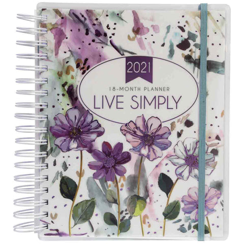 18-Month Planner For Women 2021 Live Simply (Spiralbound)