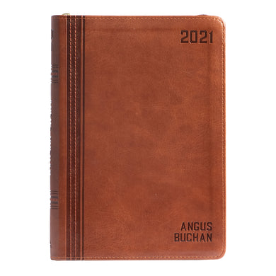 Angus Buchan Daily Planner 2021 (Faux Leather)