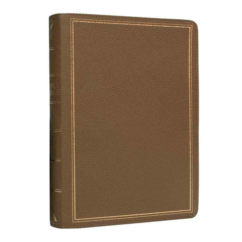 NLT Standard Thumb Indexed Tan (Genuine Leather)