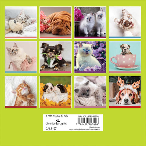 Load image into Gallery viewer, Pawsome Fun (Small Calendar 2021)