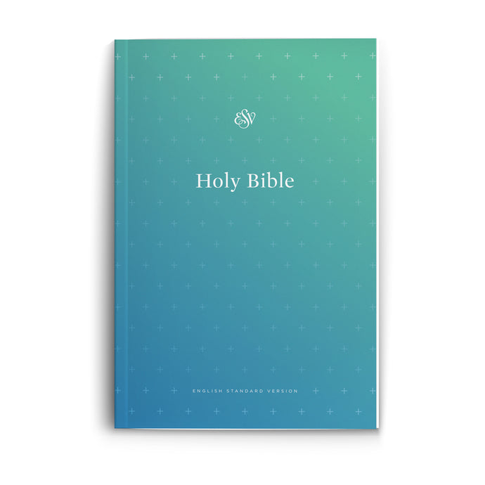 ESV Outreach Bible Blue (Paperback)