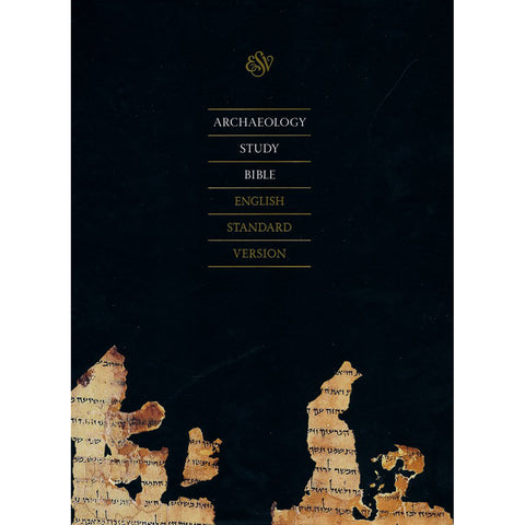 ESV Archaeology Study Bible Black (Genuine Leather)