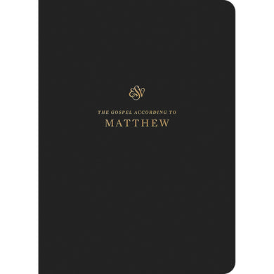 ESV Scripture Journal Matthew (Paperback)