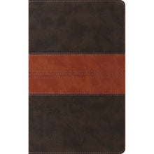 Load image into Gallery viewer, ESV Thinline Reference Bible Forest / Tan (Imitation Leather)