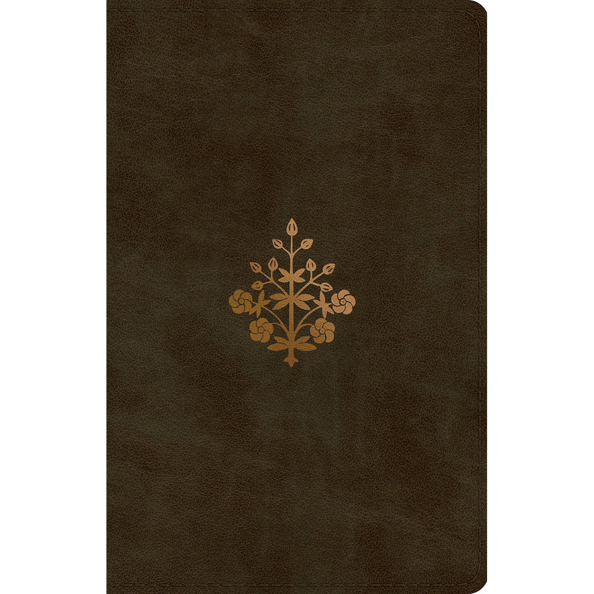 ESV Large Print Thinline Reference Bible Olive Branch Design (Imitation Leather)