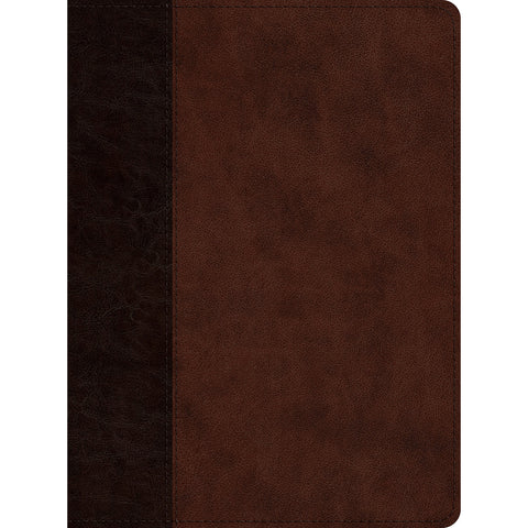 ESV Proverbs Daily Wisdom Brown / Walnut Timeless Design (Imitation Leather)