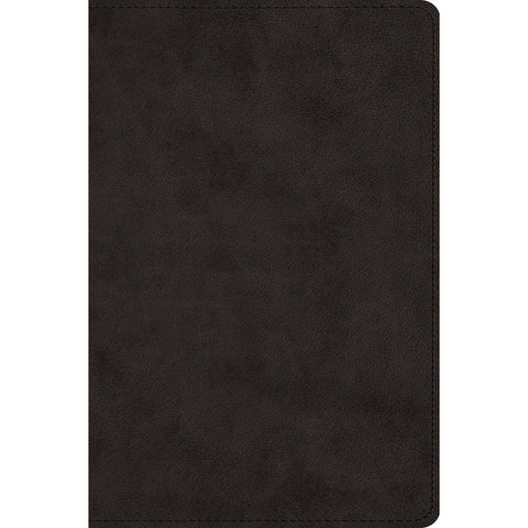 ESV Wide Margin Reference Bible Black (Imitation Leather)
