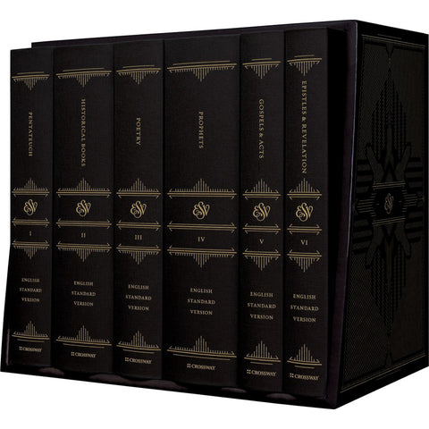 ESV Reader's Bible Six-Volume Set (With Chapter / Verse Numbers)(Hardcover)