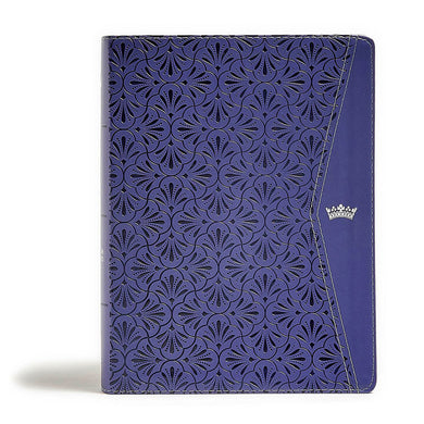 CSB Tony Evans Study Bible Purple (Imitation Leather)