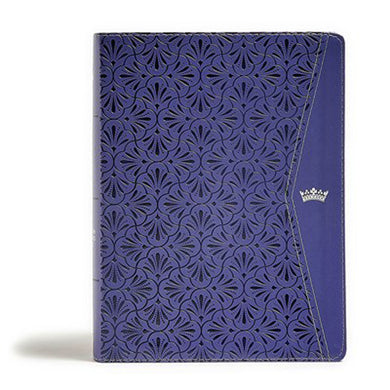 CSB Tony Evans Study Bible Indexed Purple (Imitation Leather)