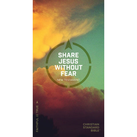 CSB Share Jesus Without Fear New Testament (Hardcover)