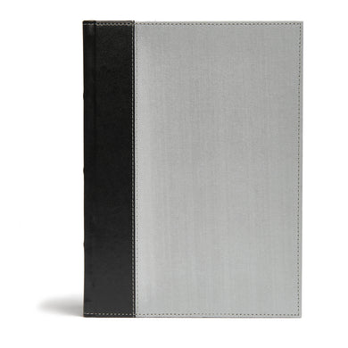 CSB Study Bible Gray / Black (Cloth)