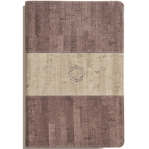 Load image into Gallery viewer, CSB Essential Teen Study Bible Weathered Gray Cork (Imitation Leather)