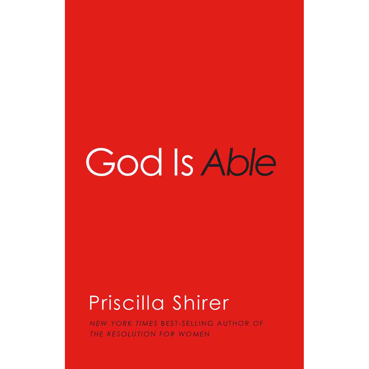 God Is Able (Paperback)