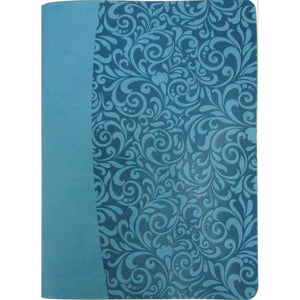 Amplified: Everyday Life Bible: The Power Of God's Word For Everyday Living Blue (Bonded Leather)