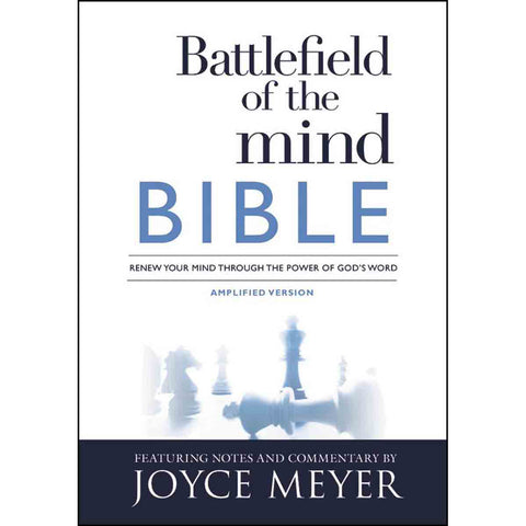 Amplified: Battlefield Of The Mind Bible: Renew Your Mind Through The Power (Paperback)