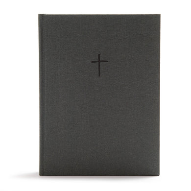 CSB Apologetics Study Bible Charcoal Cloth Over Board (Hardcover)