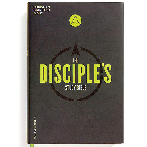 CSB Disciples Study Bible (Hardcover)