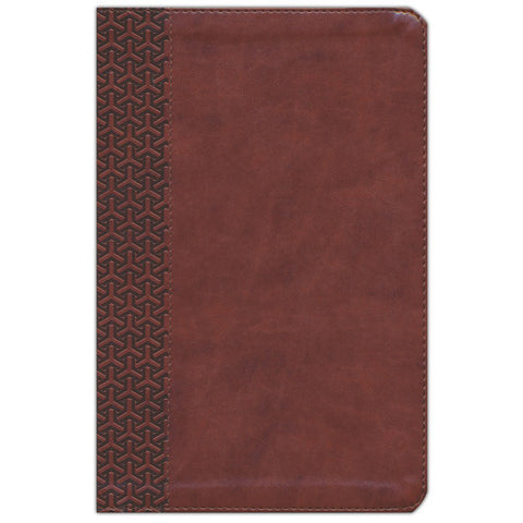 CSB Everyday Study Bible British Tan (Imitation Leather)