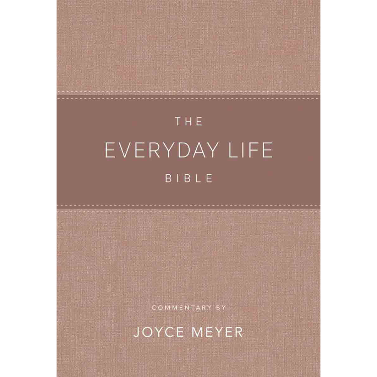 Amplified: The Everyday Life Bible: The Power Of Gods Word For Everyday Blush (Faux Leather)
