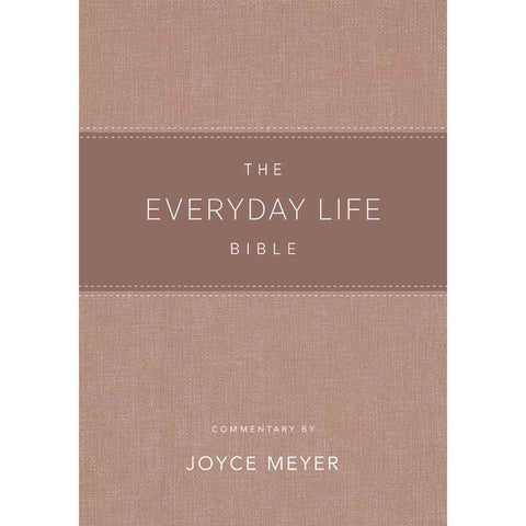 Load image into Gallery viewer, Amplified: The Everyday Life Bible: The Power Of Gods Word For Everyday Blush (Faux Leather)