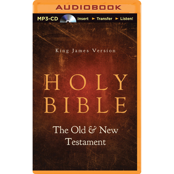 KJV Holy Bible Old & New Testament (Unabridged)(MP3 CD)