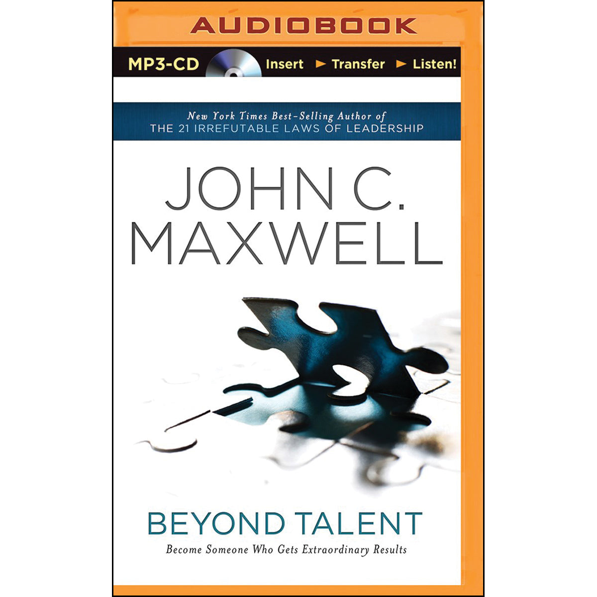 Beyond Talent (Abridged)(MP3 CD)