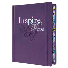 Load image into Gallery viewer, NLT Inspire Praise (LuxLeather)