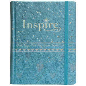 NLT Inspire Bible For Girls (LuxLeather)