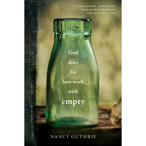 God Does His Best Work With Empty (Hardcover)