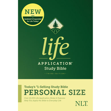 NLT Life Application Study Bible 3rd Edition Personal Size (Hardcover)