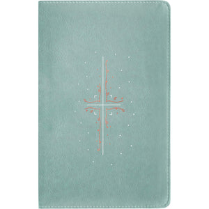 NLT Filament Bible Indexed Eucalyptus / Copper: The Print+Digital Bible (Imitation Leather)