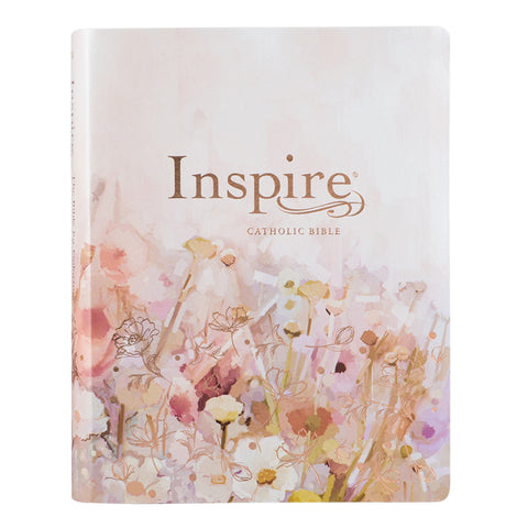 Inspire Catholic Bible Large Print (Faux Leather)
