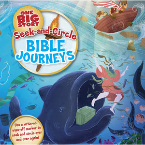 Seek-And-Circle Bible Journeys (Board Book)