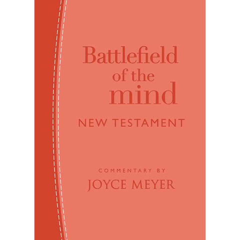 Amplified: Battlefield Of The Mind New Testament Coral (Imitation Leather)