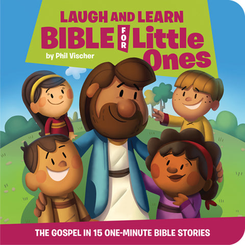 Laugh And Learn Bible For Little Ones (Boardbook)